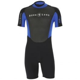 AQUA LUNG MAHE 3MM SHORTY WETSUIT – MENS