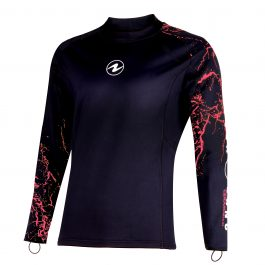 AQUA LUNG CERAMIQ SKIN LONG SLEEVE WOMENS