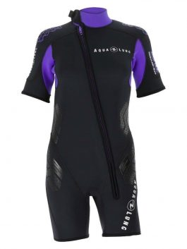 AQUA LUNG BALANCE COMFORT SHORTY 5.5MM WETSUIT – WOMENS
