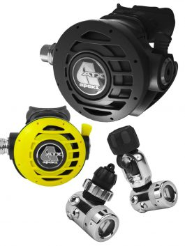 APEKS ATX STAGE 3 REGULATOR SET