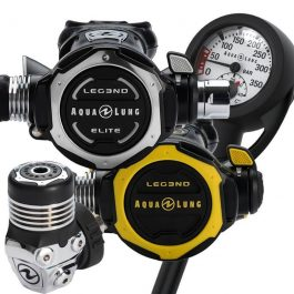 AQUA LUNG LEG3ND ELITE STAGE 4 REGULATOR SET