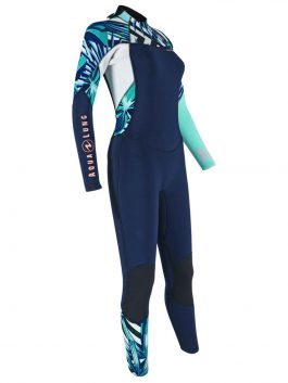 AQUA LUNG XSCAPE 3/4MM WETSUIT LADIES